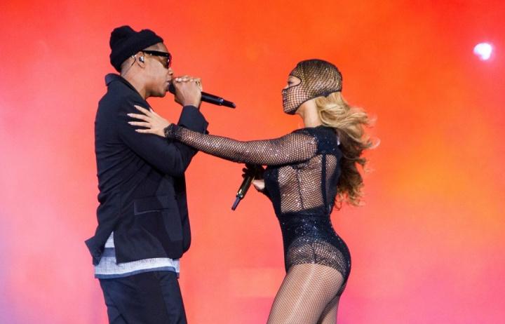 Beyoncé e Jay Z encerram a turnê 'On The Run'.  (Foto: Divulgação)