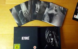 Fã registra detalhes do 'BEYONCÉ Platinum Edition' (Foto: Reprodução)