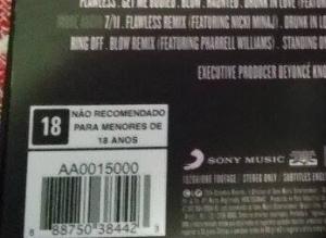 Cópia da primeira tiragem do 'BEYONCÉ Platinum Edition' no Brasil (Foto: Arquivo Pessoal/Nathali Santana)