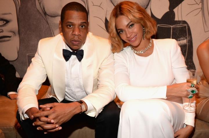Beyoncé e Jay Z (Foto: Rex)