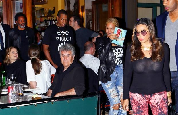 Beyoncé jantou com a família em Nova Iorque (Foto: Reprodução)
