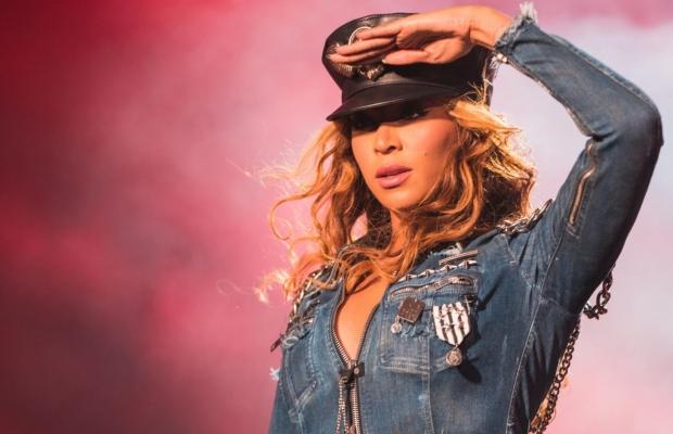 Beyoncé na turnê 'On The Run' (Foto: Reprodução)