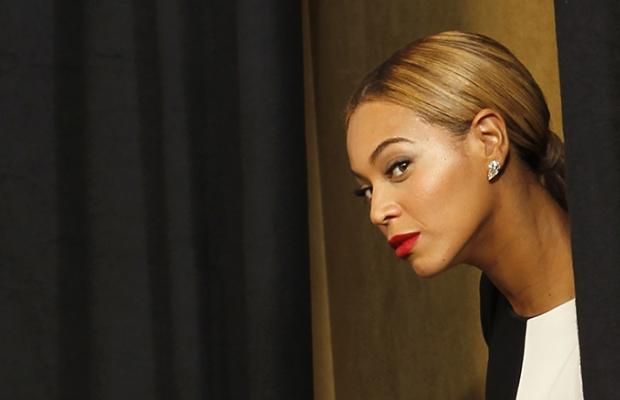 Beyoncé no Grammy Awards 2013 (Foto: Reprodução)