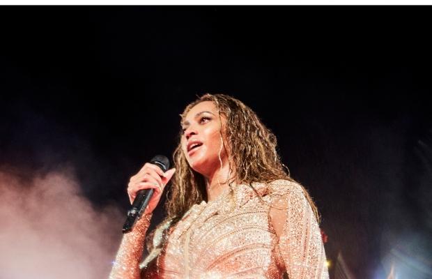 Beyoncé se apresenta em Tampa, na Flórida (Foto: Divulgação)