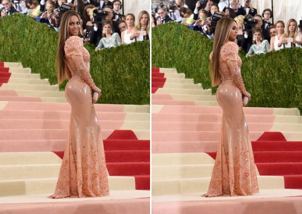 Beyoncé em vestido Givenchy no MET Gala 2016 (Foto: Reprodução)