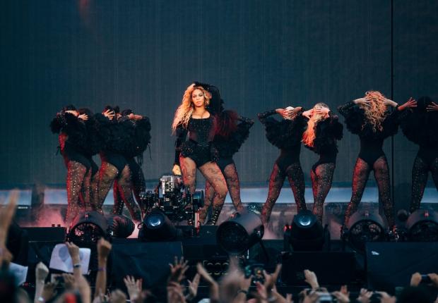 Beyoncé se apresenta em Bruxelas com a 'Formation Tour' (Foto: Divulgação)
