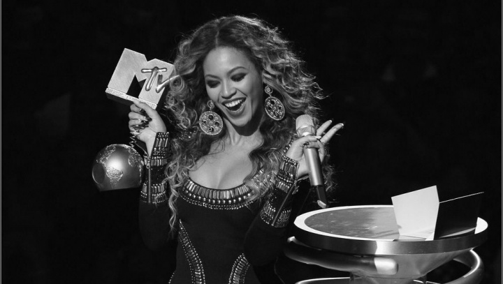 Beyoncé no EMA 2009 (Foto: Reprodução)