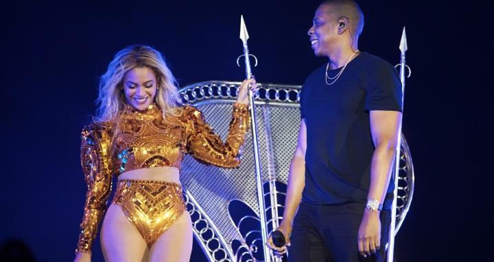 Beyoncé e Jay Z no último show da 'Formation Tour' (Foto: Divulgação/Beyoncé)