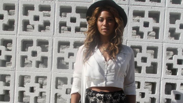 Beyoncé no festival Coachella em 2010 (Foto: Reprodução)