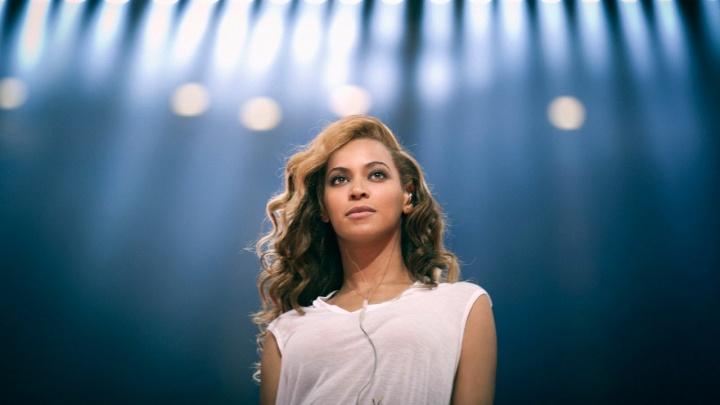 Beyoncé no ensaio para o Super Bowl 2013 (Foto: Divulgação/Beyoncé)