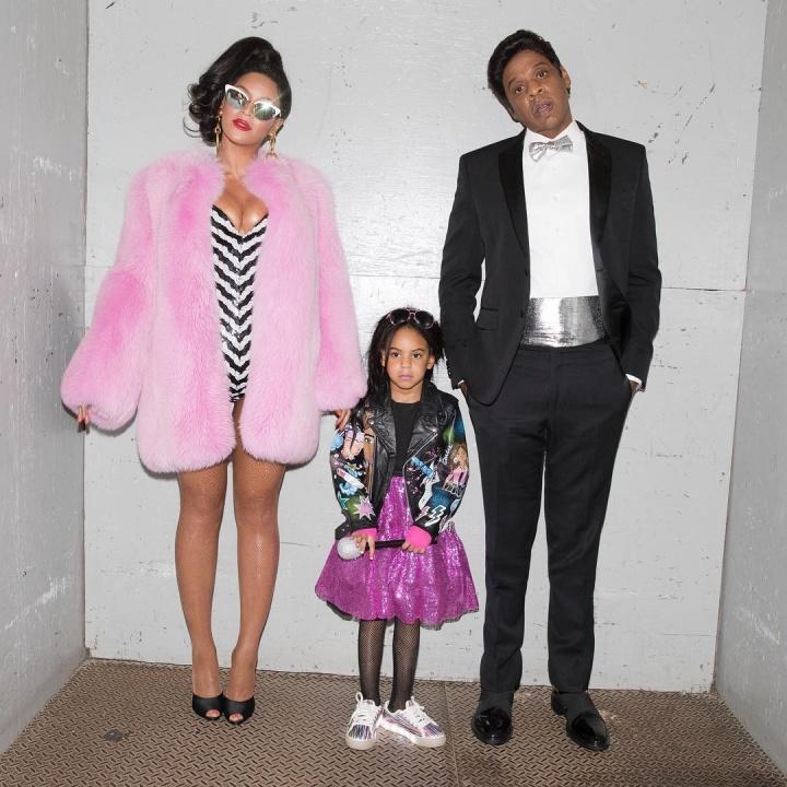 Beyoncé e família vestidos para o Halloween (Foto: Divulgação/Beyoncé)