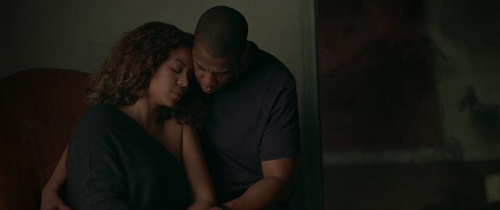 Beyoncé e Jay Z em 'Sandcastles' (Foto: Reprodução)