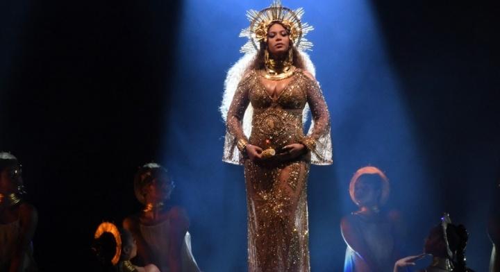Beyoncé no Grammy Awards 2017 (Foto: Reprodução)