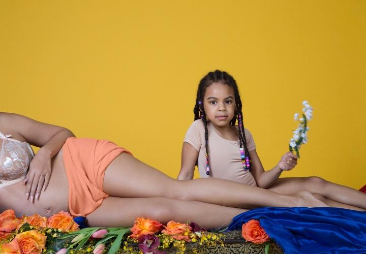 Beyoncé compartilhou imagens da sua gestação de gêmeos (Foto: Divulgação/Beyoncé)
