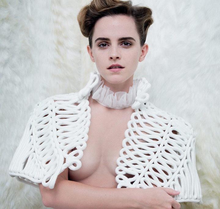 Emma Watson para a Vanity Fair (Foto: Vanity Fair/Tim Walker)