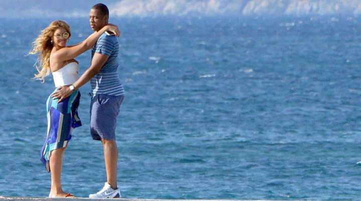 Beyoncé e Jay Z em Sardenha, Itália (Foto: Reprodução)