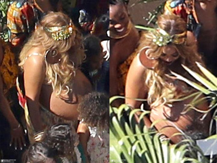 Beyoncé faz chá de bebê para os gêmeos e divulga fotos inéditas