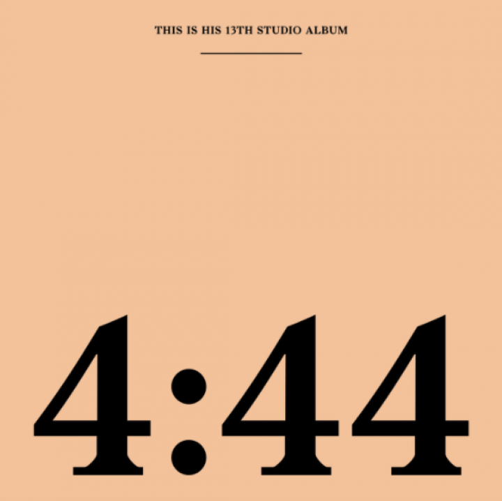 Capa oficial do álbum '4:44', de JAY-Z (Foto: Divulgação)