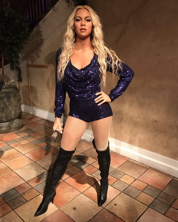 Estátua de Beyoncé inaugurada no Madame Tussauds Manhattan (Foto: Reprodução)