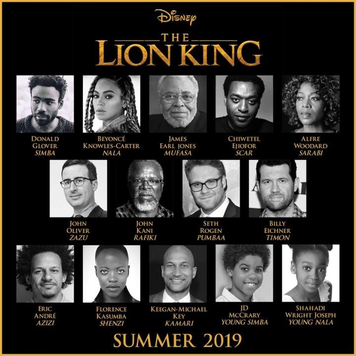 Beyoncé confirma participação no remake de 'O Rei Leão' (Foto: Reprodução)
