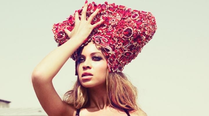 Beyoncé em photoshoot do '4' (Foto: Beyoncé)