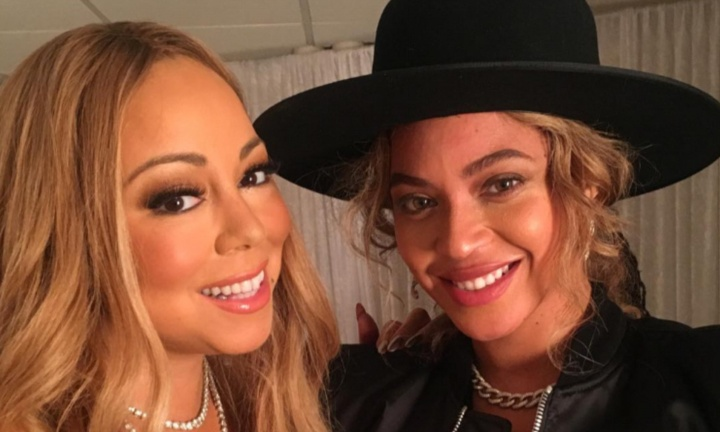 Beyoncé and Mariah Carey (Photo: Playback)