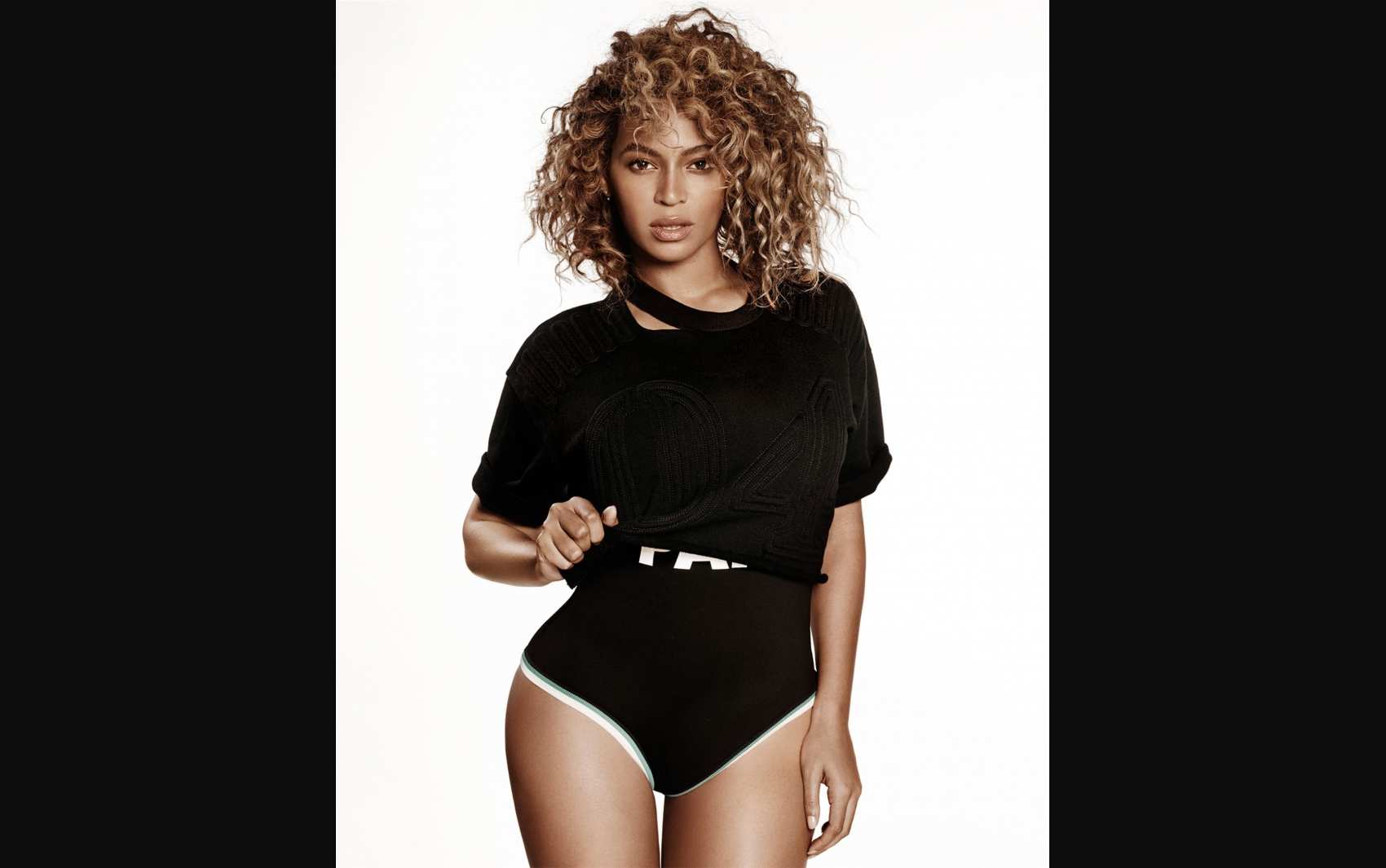 Beyoncé para a ELLE Magazine; maio de 2016