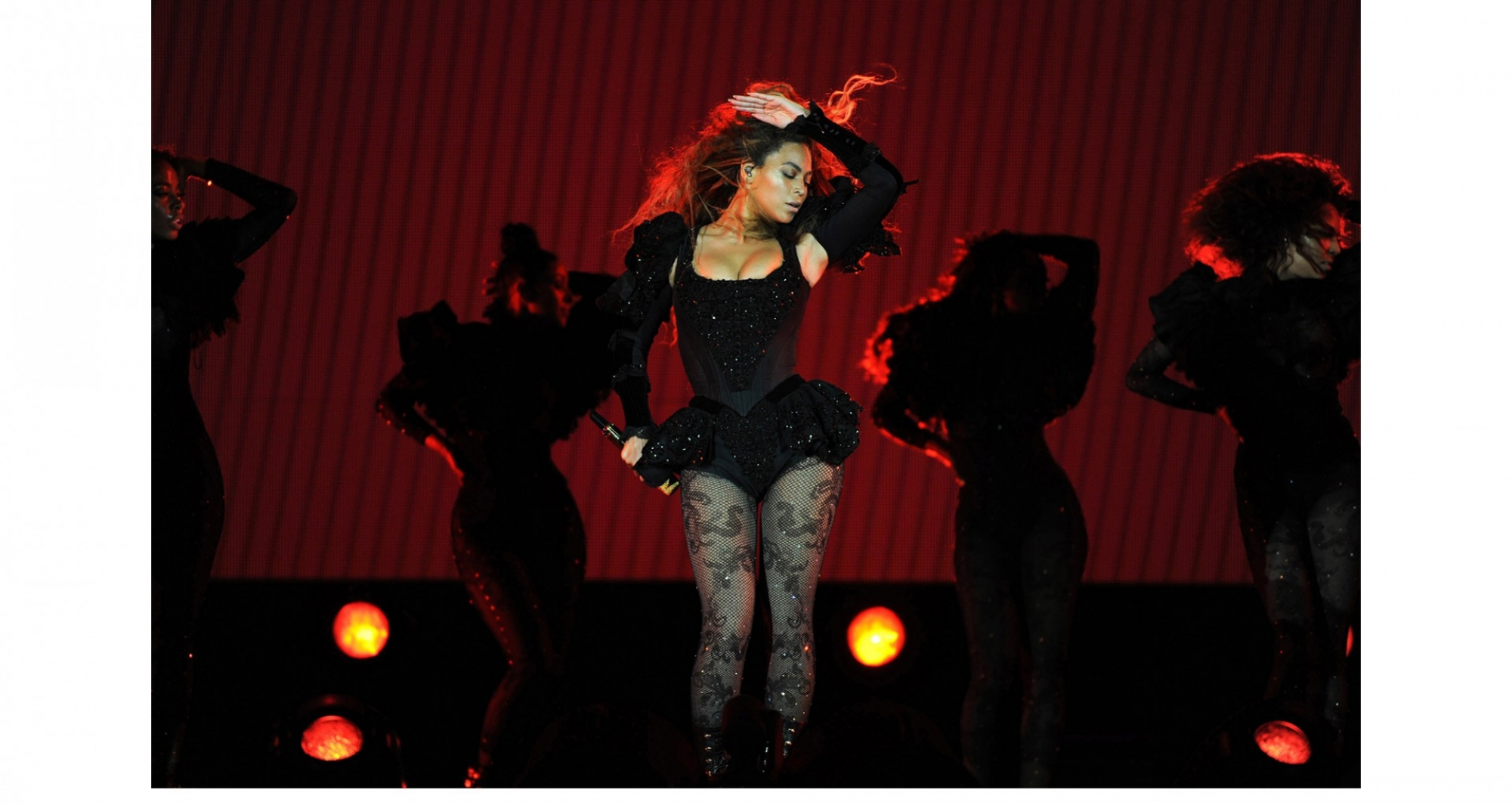 Beyoncé se apresenta em Tampa, na Flórida